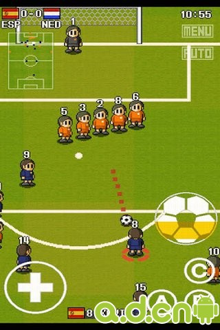 【免費體育競技App】口袋足球 完整版 PORTABLE SOCCER DX-APP點子