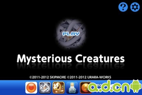 神秘的生物 Mysterious Creatures v1.1.2-Android益智休闲類遊戲下載