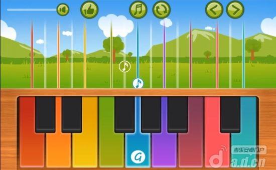 爆笑嬰兒鋼琴 Funny Baby Piano v1.1-Android音乐游戏類遊戲下載