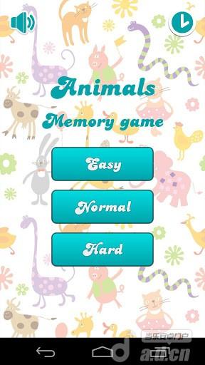 兒童記憶遊戲:動物Kids memory game:Animals v2.12-Android益智休闲類遊戲下載