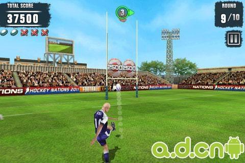 3D橄榄球 Rugby Kicks