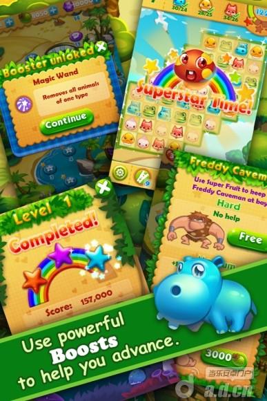 森林工坊:消除比賽Forest Mania: Match 3 Game v1.11-Android益智休闲類遊戲下載