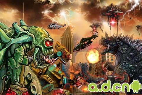 怪獸暴走 Monsters Rampage v2-Android益智休闲類遊戲下載