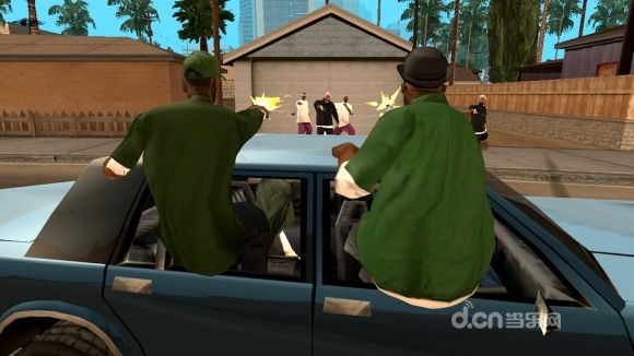 GTA侠盗猎车手:圣安地列斯(含数据包)截图