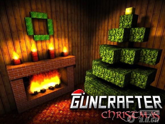 方塊槍手聖誕版 Guncrafter Christmas v1.0-Android射击游戏類遊戲下載