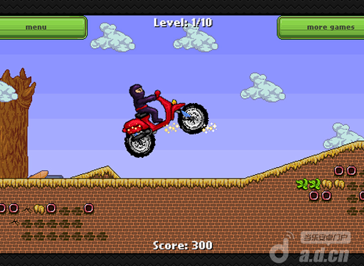 忍者赛车 Ninja Race - Motorcross game