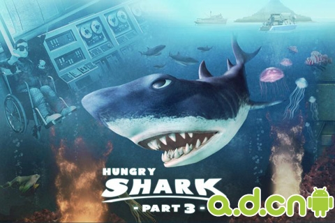 【免費冒險App】嗜血狂鲨3 Hungry Shark Part 3-APP點子