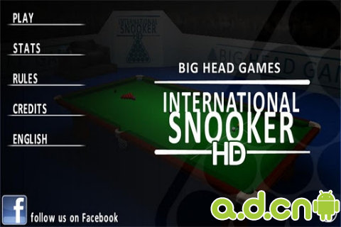 国际斯诺克Tegra版 International Snooker HD THD