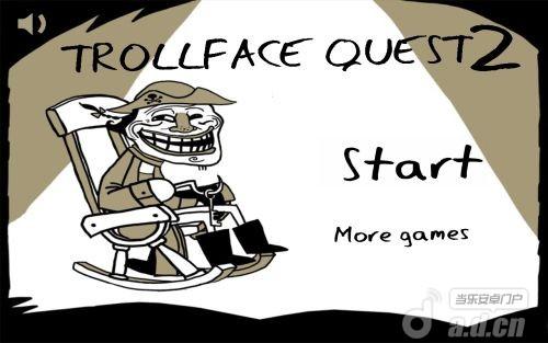 史上最贱暴走游戏 2 Trollface Quest 2