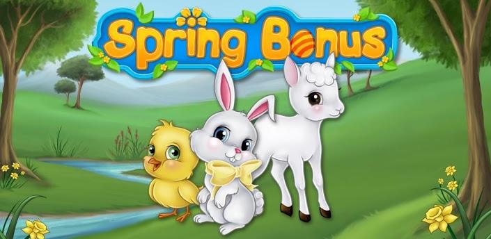 春天来了,小动物都跑到郊外玩耍