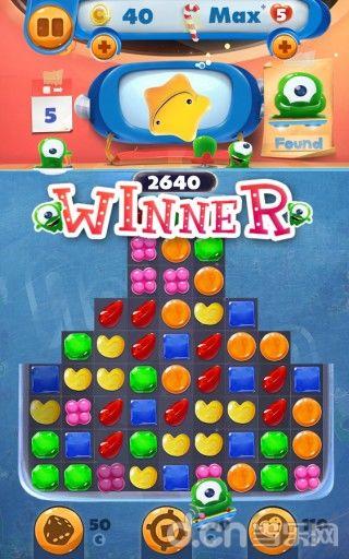 糖果消除游戏