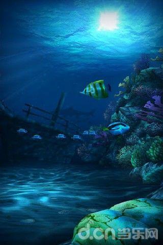 簡介 《高清海底動態壁紙 ocean hd》讓你真實的感受海洋