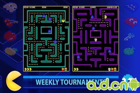 吃豆人比赛 PAC-MAN +Tournaments